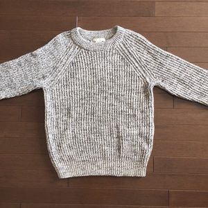 H&M Marled Grey Thick Sweater